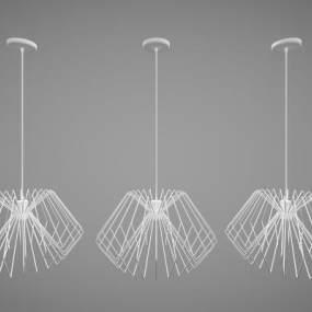 現代風格吊燈3D模型【ID:747691813】