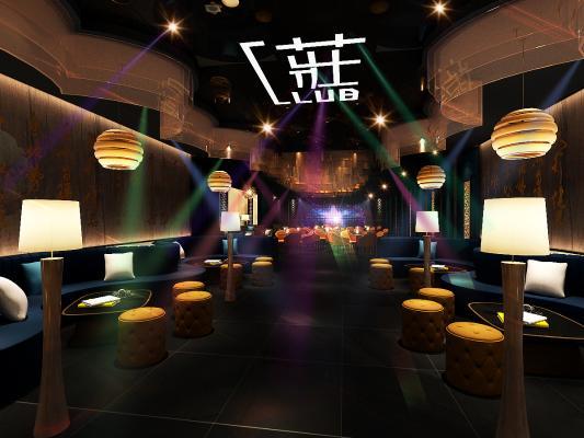酒吧3D模型【ID:742906993】