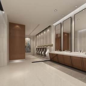 现代酒店公共卫生间3D快三追号倍投计划表【ID:434293174】