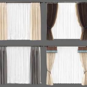 新中式窗帘组合365彩票【ID:235437636】