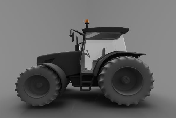 現代風格小車3D模型【ID:443621741】