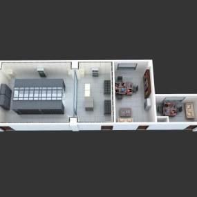 机房 3D模型【ID:941468985】
