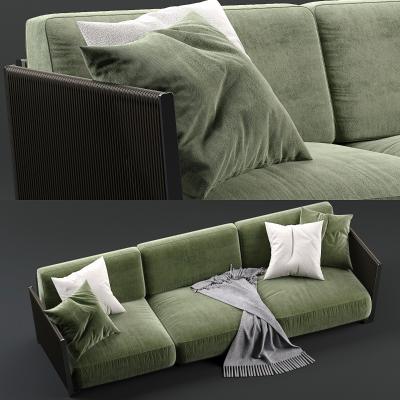 現代多人沙發3D模型【ID:645766622】