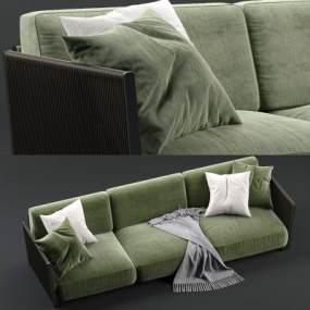 现代多人沙发3D模型【ID:645766622】