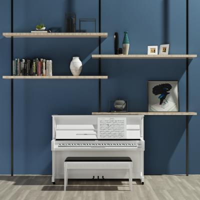 現代鋼琴3D模型【ID:332765915】