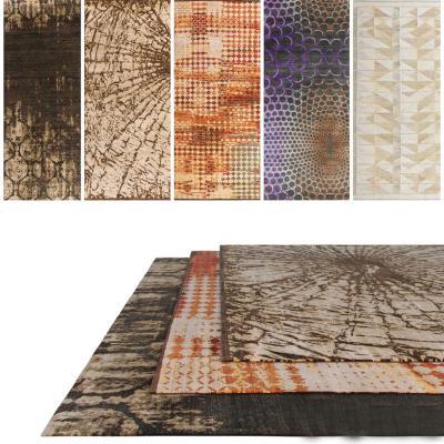 北欧地毯组合3D模型【ID:335771265】