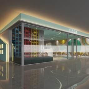 现代幼儿园大厅 3D模型【ID:942309640】