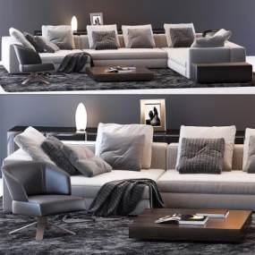意大利Minotti米洛提现代沙发组合国外3D快三追号倍投计划表【ID:632304732】