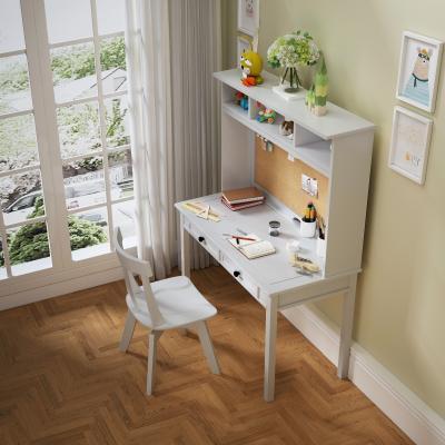 现代书桌椅组合 小孩房书桌椅 书桌饰品摆件