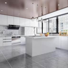 现代风格厨房3D快三追号倍投计划表【ID:532550371】