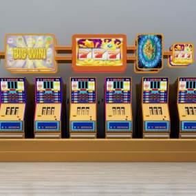 现代游戏机组合3D模型【ID:434931407】