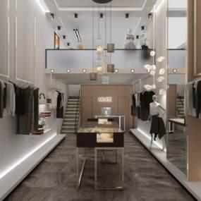 现代时尚服装店效果图一块黑色令牌飘然落下3D快三追号倍投计划表【ID:133806081】