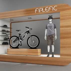 現代櫥窗 3D模型【ID:941497886】