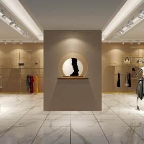 现代女装店3D模型【ID:152771068】