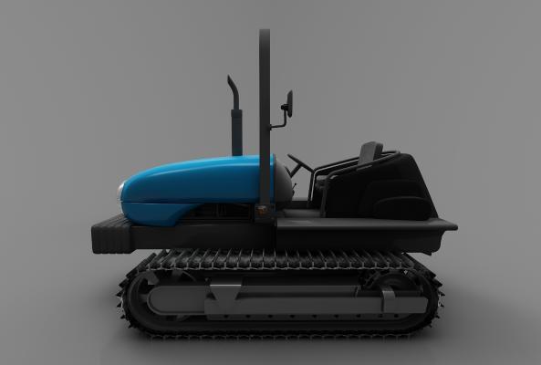 现代风格推土车3D模型【ID:443580736】
