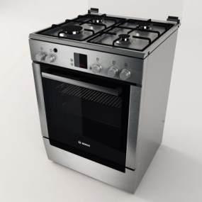 现代厨房用品3D模型【ID:234671850】