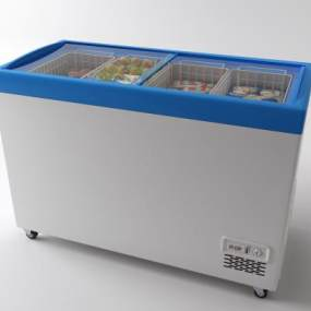 现代冰箱3D模型【ID:248419815】