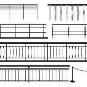 现代工装栏杆组合365彩票【ID:336026357】