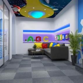 儿童科技展厅 3D模型【ID:941068780】