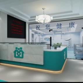 现代医院3D模型【ID:935601795】