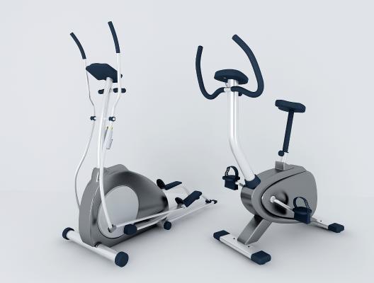 現代健身器材3D模型【ID:335302842】