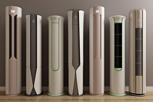 现代圆柱柜机 立式空调 客厅空调