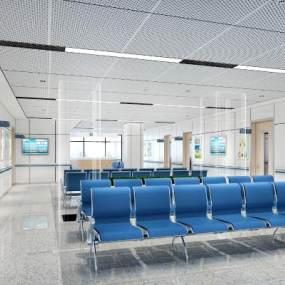 現代醫院3D模型【ID:946846773】