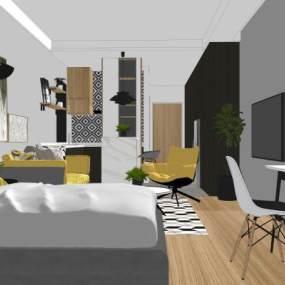 现代公寓【ID:950123885】