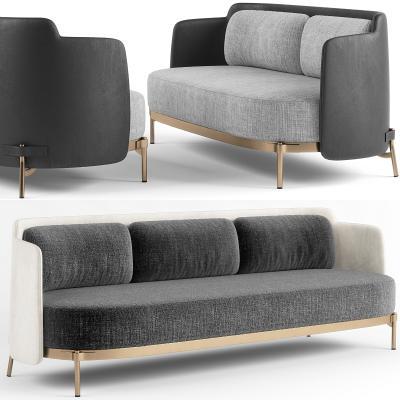 现代多人沙发3D模型【ID:635001675】