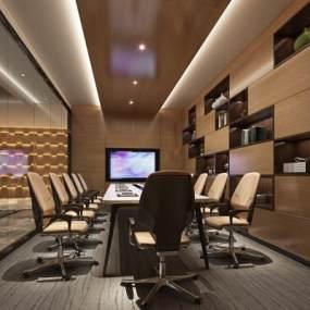 现代办公室3D模型【ID:932012013】