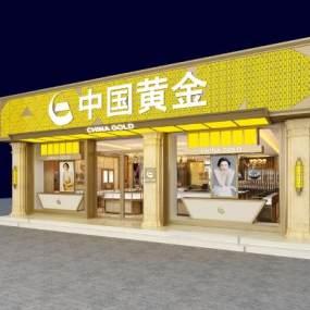 欧式中国黄金3D模型【ID:933043884】