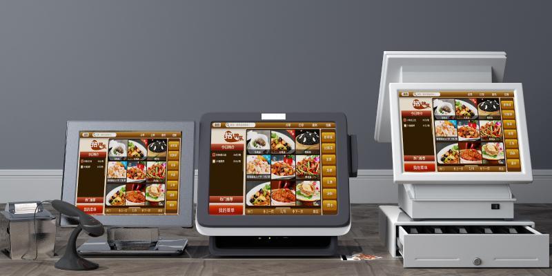 現代點餐機3D模型【ID:431346506】