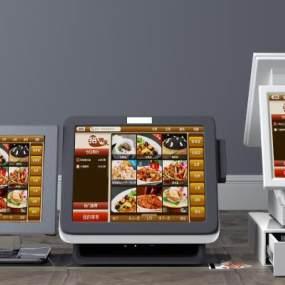 现代点餐机3D模型【ID:431346506】