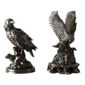 现代老鹰雕塑装饰摆件 3D模型【ID:342152149】