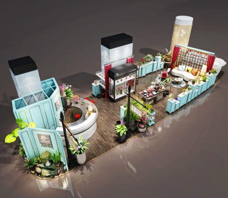 现代开敞式花店