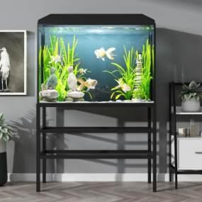 鱼缸 3D模型【ID:240802552】