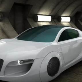 现代奥迪概念车3D模型【ID:432684735】