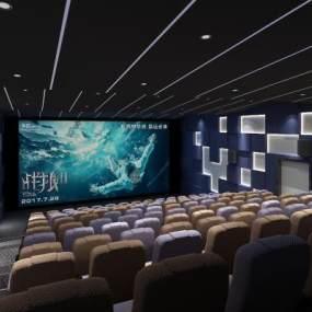 现代电影院3D模型【ID:647267870】