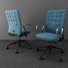 现代办公椅 3D模型【ID:736213428】