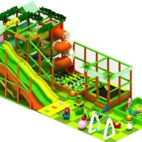 現代風格淘氣堡3D模型【ID:148623271】