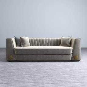 现代多人沙发3D模型【ID:635277640】
