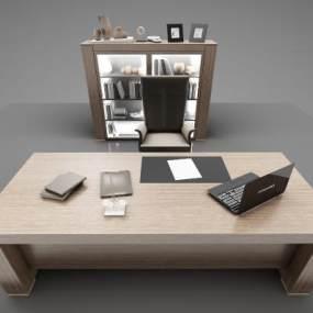 現代風格沙發辦公桌3D模型【ID:950454131】