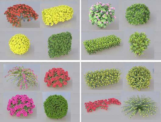現代植物SU模型【ID:146268561】