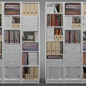 現代風格裝飾柜3D模型【ID:148653149】