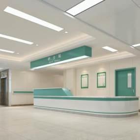 现代护士站3D模型【ID:934784757】