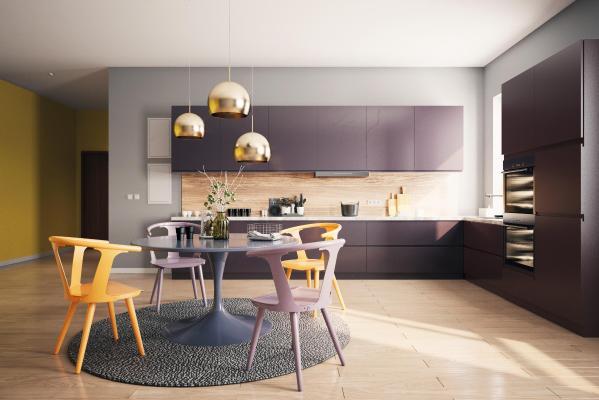 现代风格厨房3D模型【ID:551358322】
