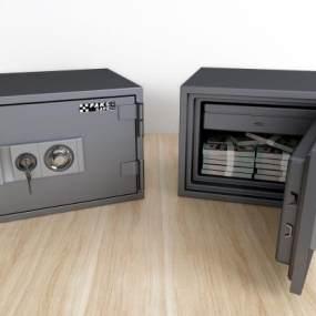 现代保险柜3D模型【ID:432762530】