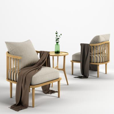 北歐椅子3D模型【ID:748874020】