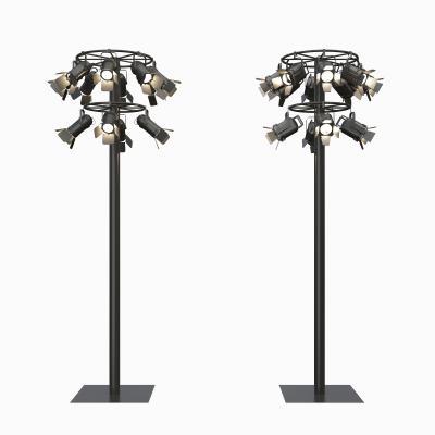 现代灯柱3D模型【ID:831044391】