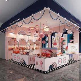 現代糖果屋3D模型【ID:948924833】